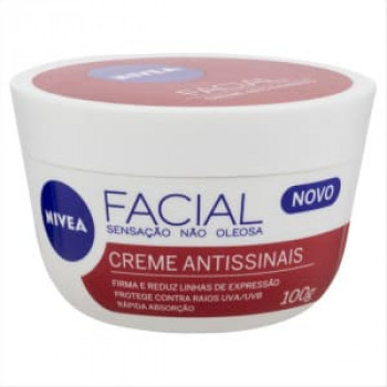 Creme Facial Antissinais Nivea 100ml