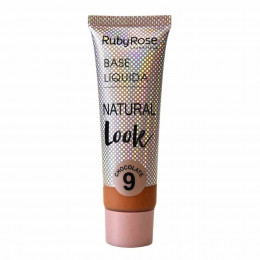Base Liquida Natural Look Chocolate 9 Ruby Rose 29ml