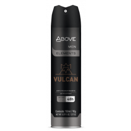 Desodorante Above Vulcan Aero Antitranspirante 150ml